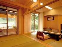 【本館】本館和室(8畳+踏込4畳)のお部屋の一例