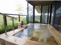 【ピグマリオン】特別室の客室露天風呂の一例