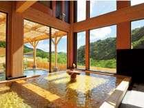 日帰り入浴施設「観音プリンシプル」の内湯の一例※ご宿泊のお客様も利用可能です