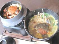 【◆秋の味覚◆】旨味と甘味の珍味★損保川の天然もくずがに&天然鮎の塩焼きを食べよう♪