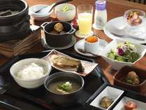 ご朝食/和のこころを大切にした和定食です(ある日の一例)