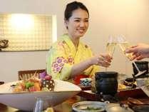 ◆恋人との素敵なお食事のひと時を(イメージ)