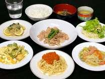 【夕食一例】メニューは日替わりでご用意いたします。