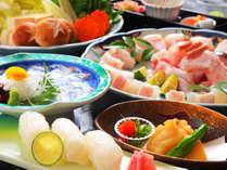 【天然クエ☆超得とくプラン】クエ鍋・にぎり・お刺身で「 天然クエを食べつくす!」