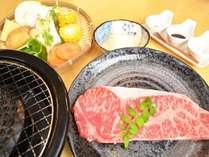おおいた豊後牛のサーロインステーキディナーです。大分が誇る豊後牛の美味しさをご堪能ください。