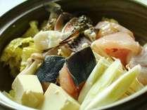 本日の鍋物-キトキト海の幸をその時に一番美味しいものをお出しします