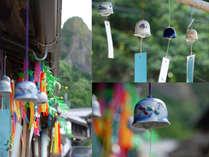 【伊万里大川内山風鈴まつり】窯の里に、風情あふれる風鈴の音が響く。6月中旬~8月末まで