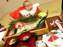 【お食い初め★男の子】家族みんなで赤ちゃんの初めての食事をお祝いしよう♪お食い初めプラン