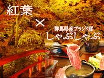 紅葉×しゃぶしゃぶで楽しむ秋の伊香保旅