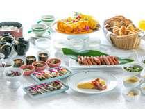 【料理】無料朝食バイキング 6:30~9:30蒲郡クラシックホテル総料理長監修。和洋日替(画像はイメージ)