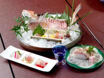お造り・お寿司等々…色んな調理法で若狭ぐじをご堪能下さい。