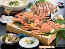 【蟹ふぐコース(蟹すき)】メインのお鍋が選べる!蟹もふぐも楽しめるコース