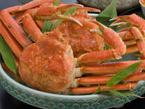 【ゆで蟹一杯付き】丸ごと食べれて、大満足★蟹懐石プラン