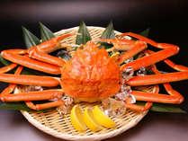 【越前蟹懐石】季節の懐石料理&本場福井のタグ付き姿蟹♪
