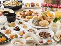 トリップアドバイザー「朝食の美味しいホテルランキング」5年連続受賞した自慢の朝食♪