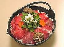 【しし鍋or寄せ鍋】寒い季節にピッタリ♪冬限定・お鍋チョイスプラン【食事処】