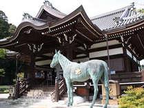 橘寺<当館から車約10分>聖徳太子の誕生の地に自身が創建とされるお寺です。