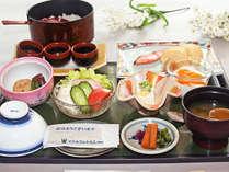 お手軽朝食付きプラン~地元料理を盛り込んだ和定食~