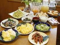【朝食】朝食バイキング付プラン