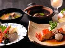 【お子様食:和食】お魚を中心としたプレートをご用意。