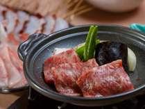 ご夕食時一品料理「和牛陶板焼き」