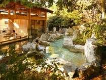 広大な敷地に2つの自家源泉を持ち、8種類のお風呂が愉しめる大浴場。きらの里自慢のお風呂です♪