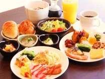 朝食和洋バイキング(盛り付けの一例)