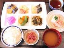 ■朝食バイキング 和食