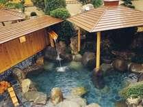 庭園露天風呂「星月の湯」