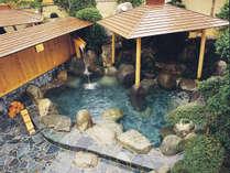 *下呂温泉を堪能!泉質自慢の庭園露天風呂「星月の湯」