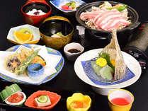 【☆食事☆】岐阜県産豚肉の塩ダレ蒸し焼き御膳!お値打ちリーズナブルなオススメコースです♪
