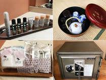 【☆部屋☆】歯ブラシ、部屋ブラシ、金庫など、充実の設備とアメニティ