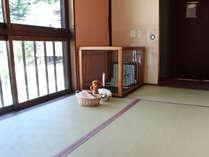 【別館】わんこと泊まれる2.5階トイレなし部屋 もちろんサークルも完備!