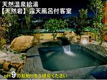 【温泉泉質グレードアップ】つるつるスベスベプラン♪