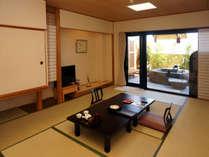 【天然岩】露天風呂付客室12畳
