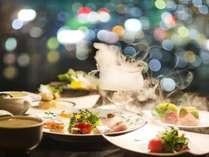 『花樹海』のX'mas スペシャルディナーと【夜景】【温泉】で愉しむ特別な刻・・