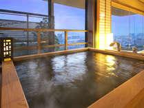 ◆天然温泉◆【展望檜風呂付】特別室-海景-和洋室ツイン