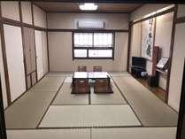エコノミー和室4名様(12畳)共用トイレ、共用バス(大浴場)