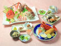 【和洋室】金目鯛しゃぶしゃぶと伊勢海老三味プラン