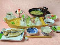 【ゆったり寛ぎの和洋室】金目鯛と地魚の和食プラン