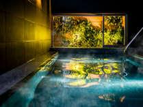奥湯河原から運搬している天然温泉をお楽しみください♪※加温・循環濾過しております。