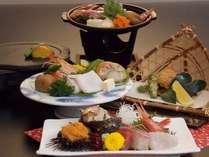 鮮度抜群!日本海の幸 恵みプラン(境港水揚げ旬魚他)肉類なし