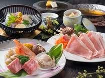 【じゃらん限定】欲張り!海幸と山幸お楽しみグルメプラン(境港旬魚あり、県産肉あり)