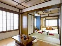 3間続きの広々和室(客室一例)