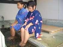 岩瀬湯本温泉の足湯