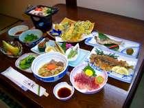 旬の食材をふんだんnに使用したお料理一例