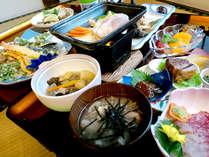 *【夕食・春】(一例)旬の食材をたーんと召し上がれ♪