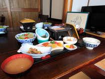 *朝日の爽やかな日差しを感じながら朝食でしっかり栄養を!