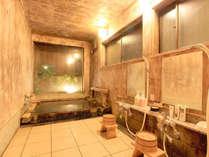 *決して大きな温泉ではありませんが、源泉掛け流しの温泉で心身ともに休まります。