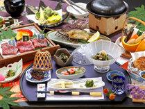 【お食事一例*食べ比べ】当館人気No1!3種の山形ブランド牛食べ比べコース